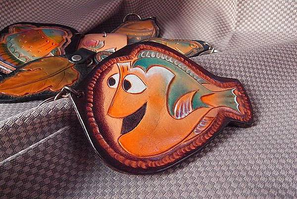 皮雕卡通魚吊飾鑰匙圈系列-KF0101-380- [640x480].JPG