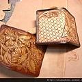 皮雕藝術名片夾-唐草 TAN 色-CC0303-R1065393 [640x480]