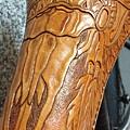 鹿骨印地安頭飾坐墊