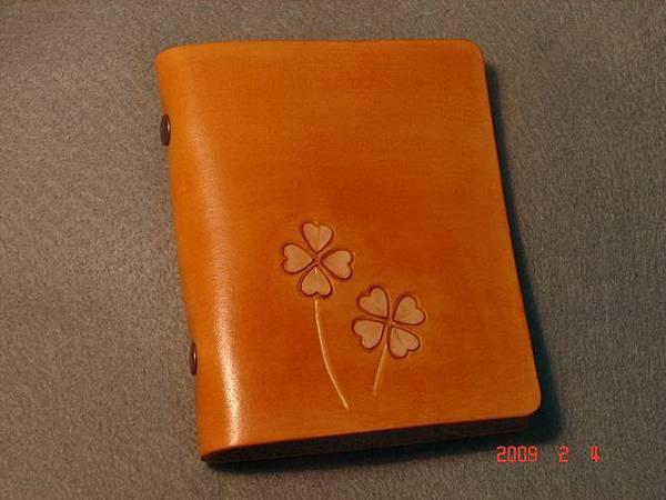 幸運草皮雕卡夾-CY0101-480