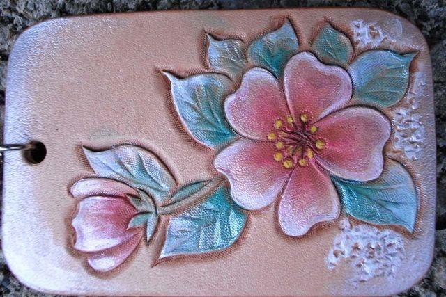 皮雕藝術雕刻梅花鑰匙圈-KF0202-_0026172 [640x480].jpg