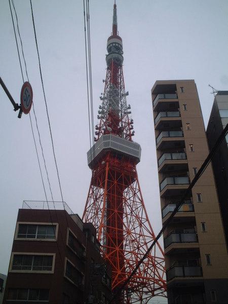 近拍東京鐵塔