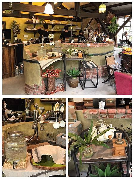 【屏東美食】全預約制超好拍咖啡廳。浪滿、漂亮適合約會的歐式小莊園觀景餐廳-旁聽席家飾傢俱咖啡館