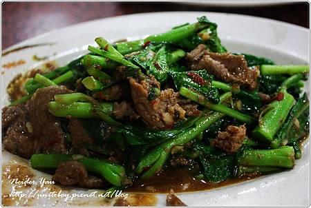 阿美海產店-芥蘭牛肉