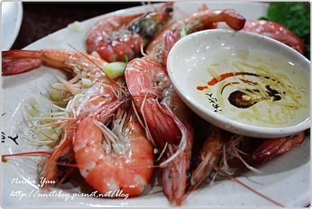 阿美海產店-鹽蒸蝦