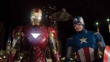 復仇者聯盟-鋼鐵人&美國隊長