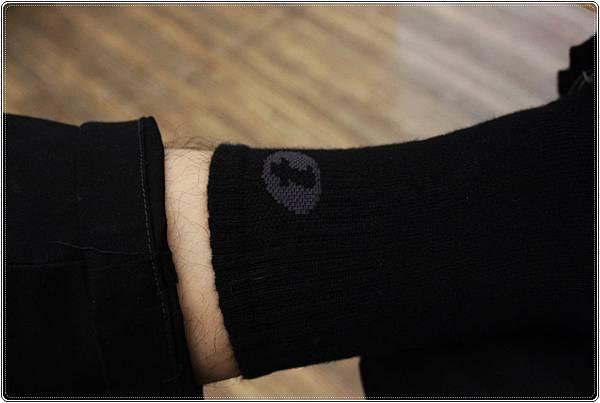 titan-抗菌活力襪著用圖