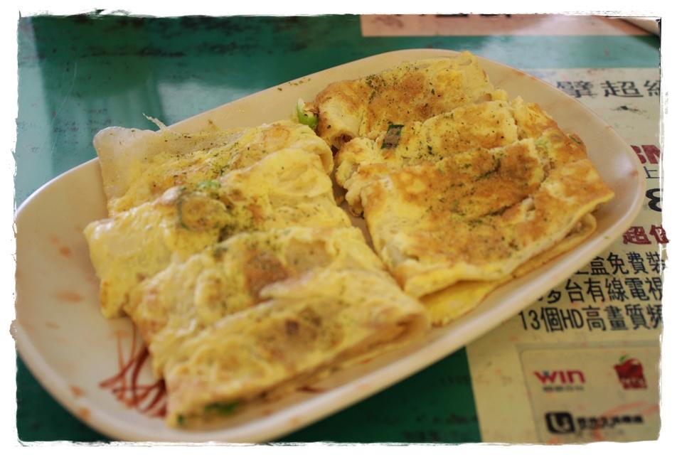蔡蛋早餐店-鮪魚蛋餅