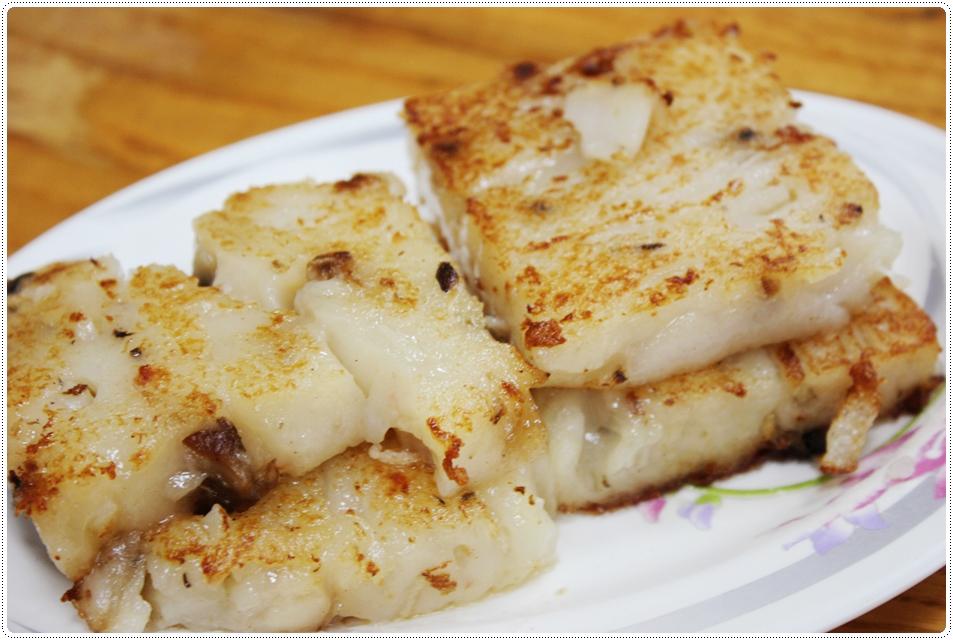 林記香港粥品-蘿蔔糕