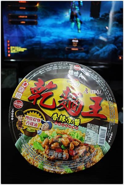 味味A乾麵王-香辣京醬