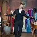 潘帥復古扮相風度翩翩的紳士舞王