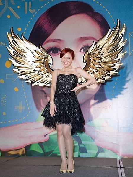 賜天使笑容與歌聲的梁文音金色翅膀, 期許未來飛得更高遠