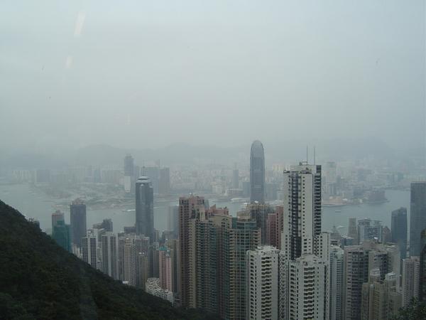 從樓上遠眺港口大樓