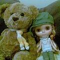 跟好友小熊來合照