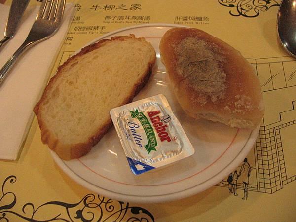 20070127 澳門金爵餐廳套餐所附麵包_145