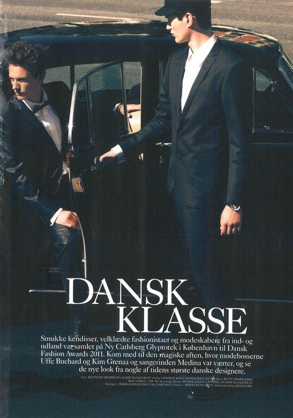 "Eurowoman magazine ""DANSK KLASSE"""