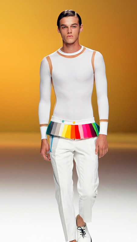 #Madrid Fashion Week# Davidelfin SS12