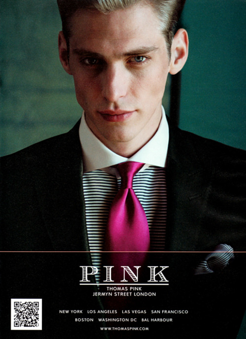 Jeremy Dufour for Thomas Pink FW11