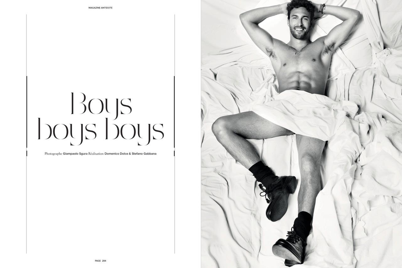 BOYS BOYS BOYS by Giampaolo Sgura for Magazine Antidote F/W 2011