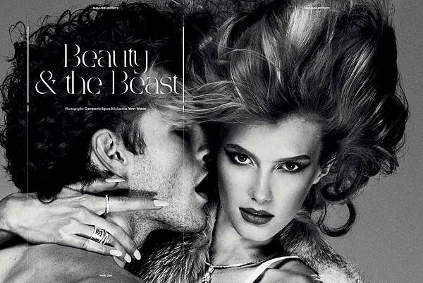 Beautiy & the Beast by Giampaolo Sgura for Magazine Antidote F/W 2011