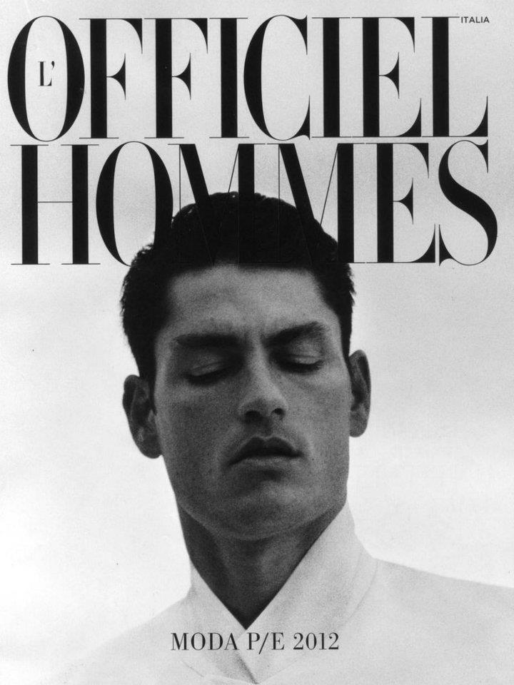 Tyson Ballou by Pablo Arroyo for L'Officiel Hommes Italia Spring/Summer 2012