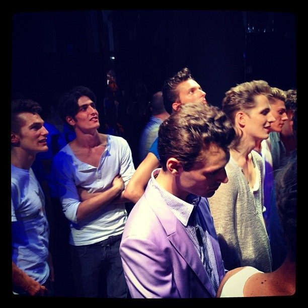 roberto cavalli ss13 - before the show
