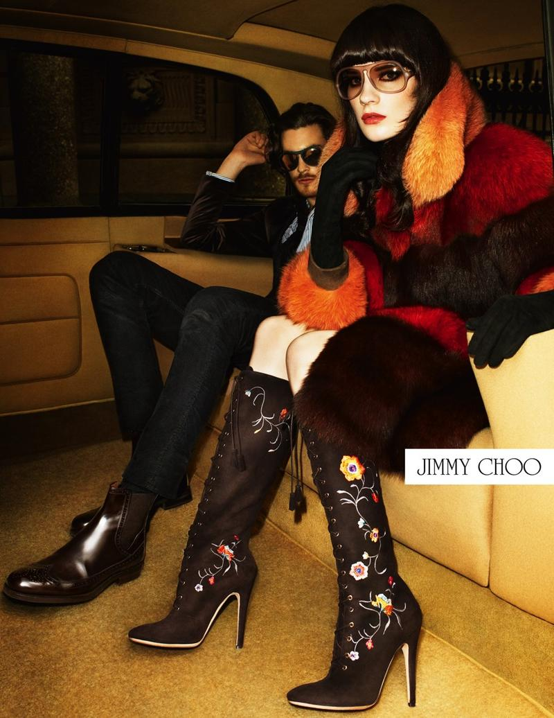 Jimmy Choo F/W12 - Bette, Jonas & Querelle by Terry Richardson