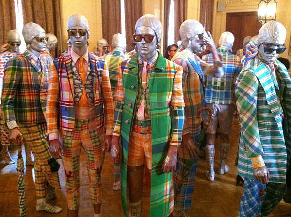 Thom Browne Backstage