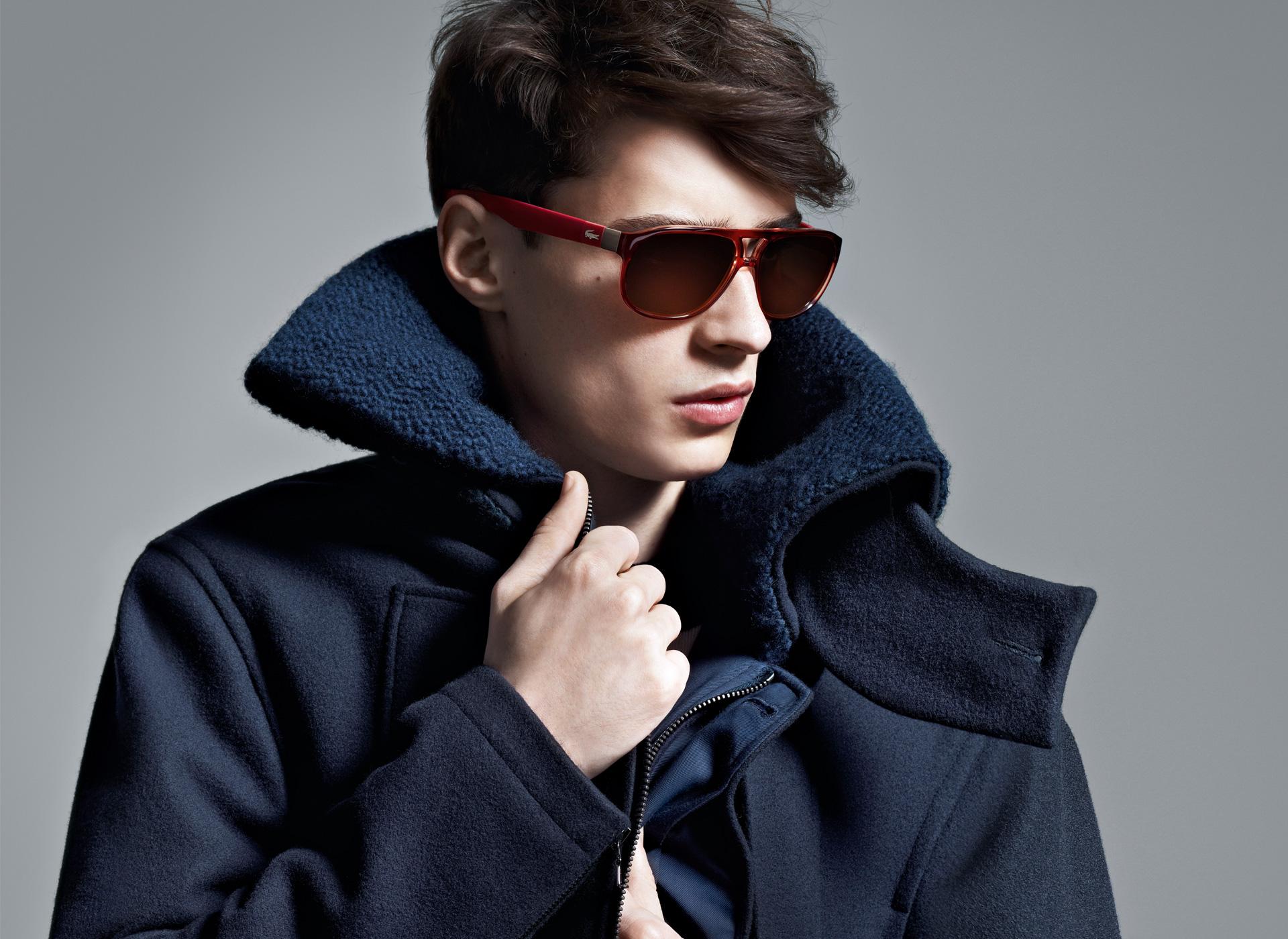 Adrien Saholres for Lacoste Eyewear