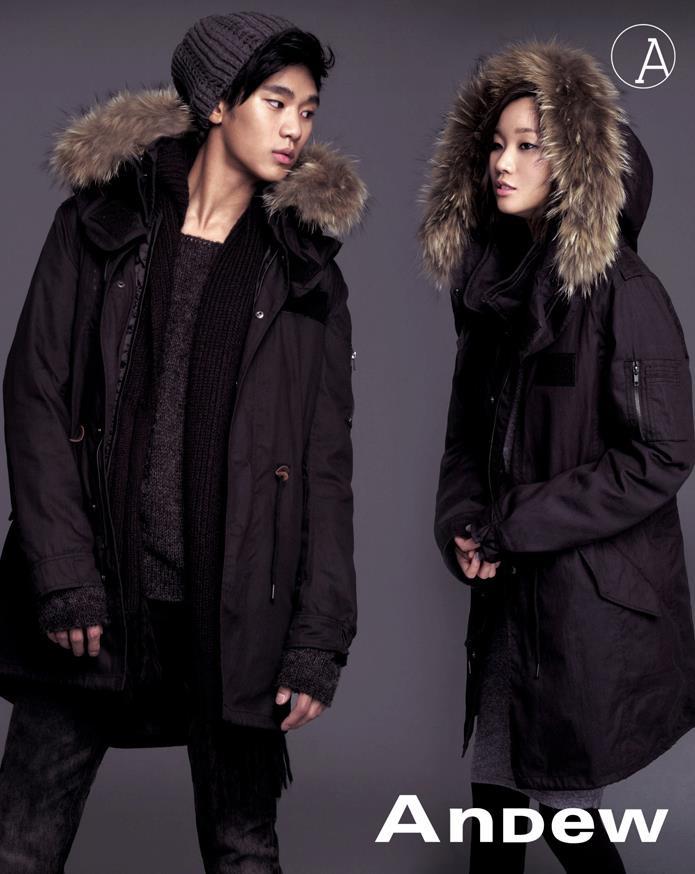 Andew 2010 FW catalog 金秀賢