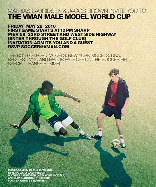 THE VMAN MALE MODEL WORLD CUP
