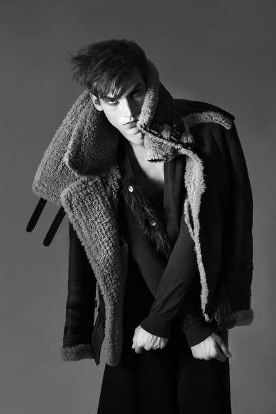 Model: Philipp Bierbaum shoot: Clément Louis for CRASH magazine