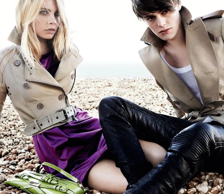Jacob Young in Burberry SS11 Ad