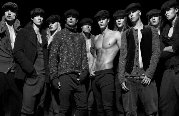 The History of Man by Robbie Fimmano for Interview June/July 2010 | Dolce & Gabbana 20th