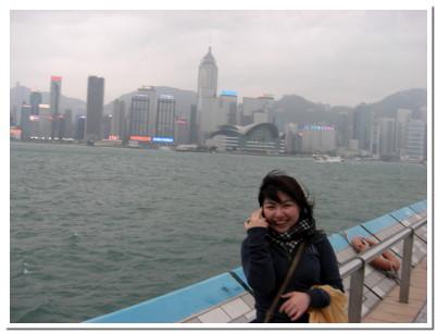 港邊海風非常地冷 >o<