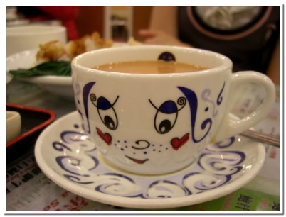 奶茶的杯杯好可愛