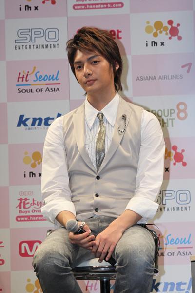 花より男子 20090416 press con.-金俊