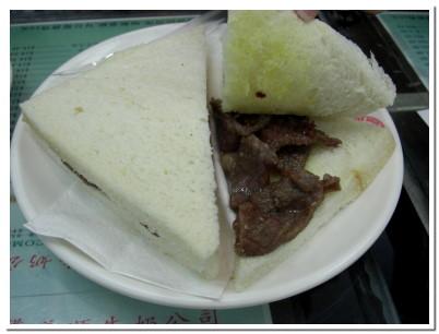 義順牛奶公司-牛肉三明治