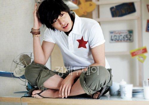Lee Min Ho for Levi's