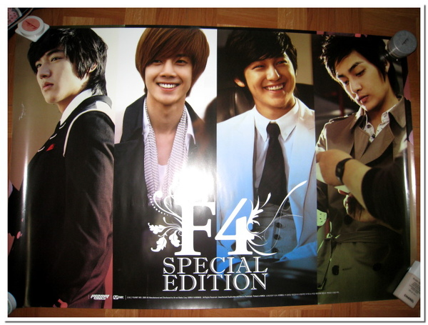 F4 Special Edition Poster