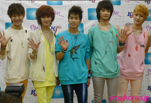 SHINee fammeeting press conf.