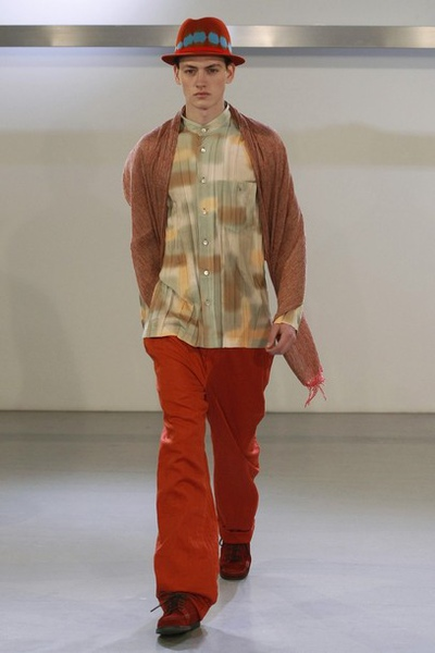 Issey Miyake FW10 - Jakob Hybholt