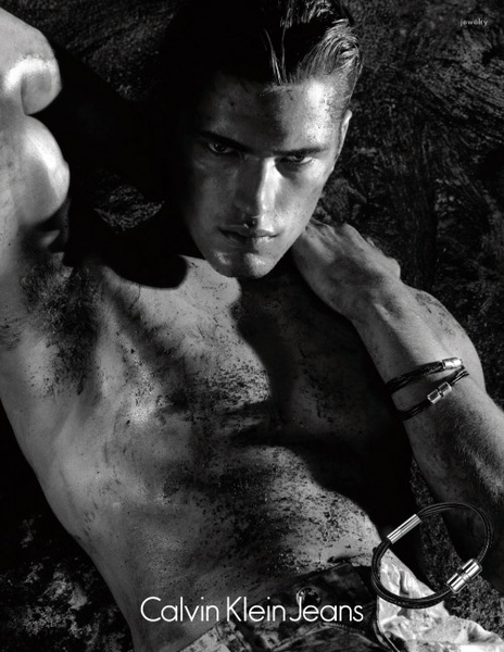 Sean O'Pry for Calvin Klein Jeans Watches S/S 10