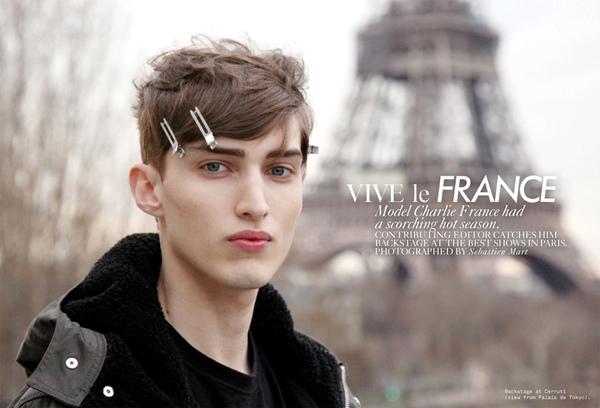 "Charlie France for Contributing Editor ""Vive Le France"""