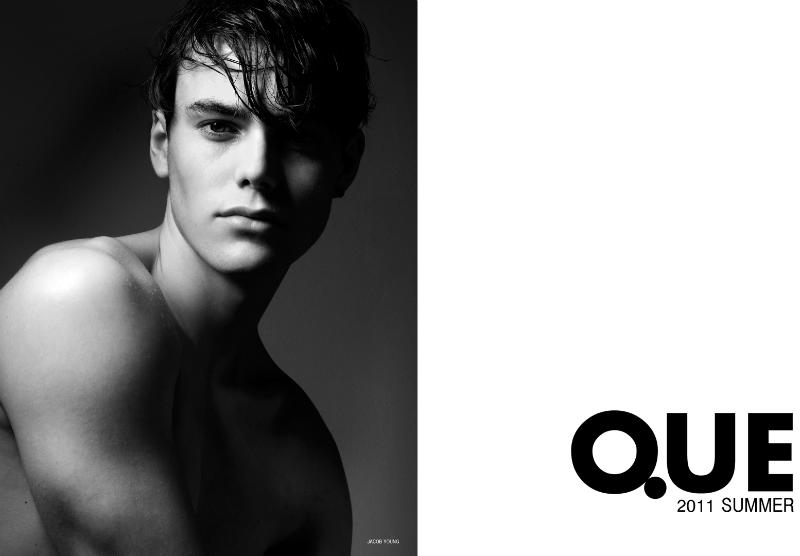 Jacob Young by Cuneyt Akeroglu for Que Spring 2011 Campaign