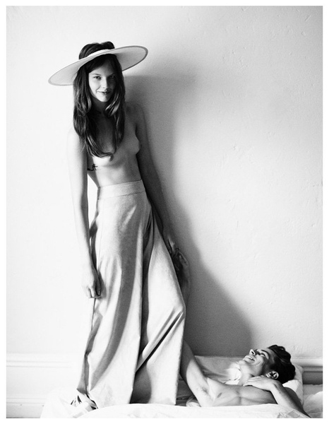 Jeremy Young & Sara Blomqvist by Andreas Öhlund for Stockholm Spring 2011