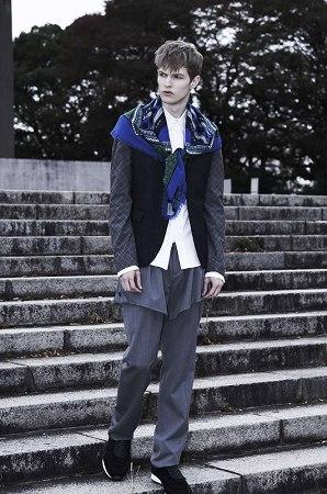 Adrian Bosch with Donna Model Tokyo