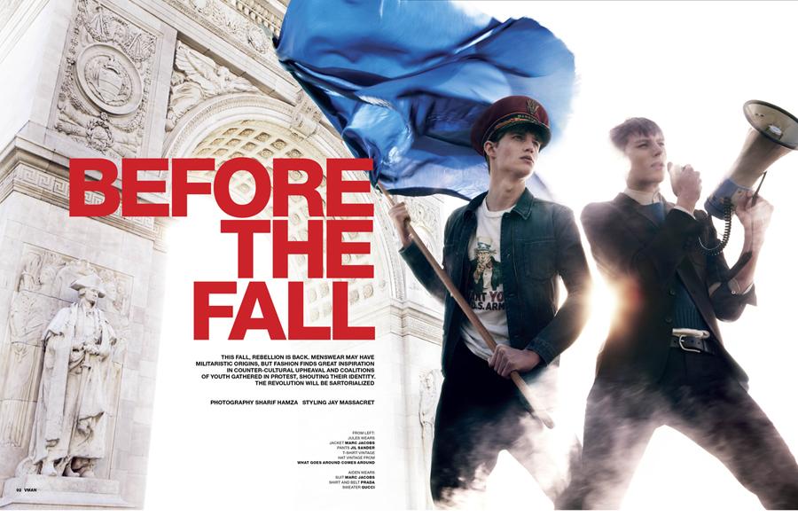 """Before The Fall"" VMAN #22"