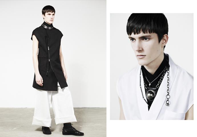 Charlie Timms for Vogue Homme Japan SS11 by Alex S