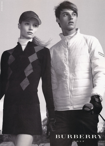 Robbie Wadge for Burberry Golf FW10
